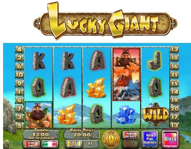 Giochi per slot machine: lucky giant