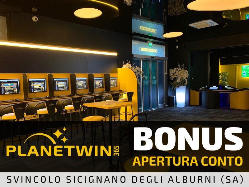 Bonus Benvenuto PlanetWin365 (Sicignano degli Alburni)